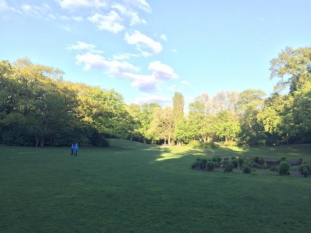 ベルリンの公園